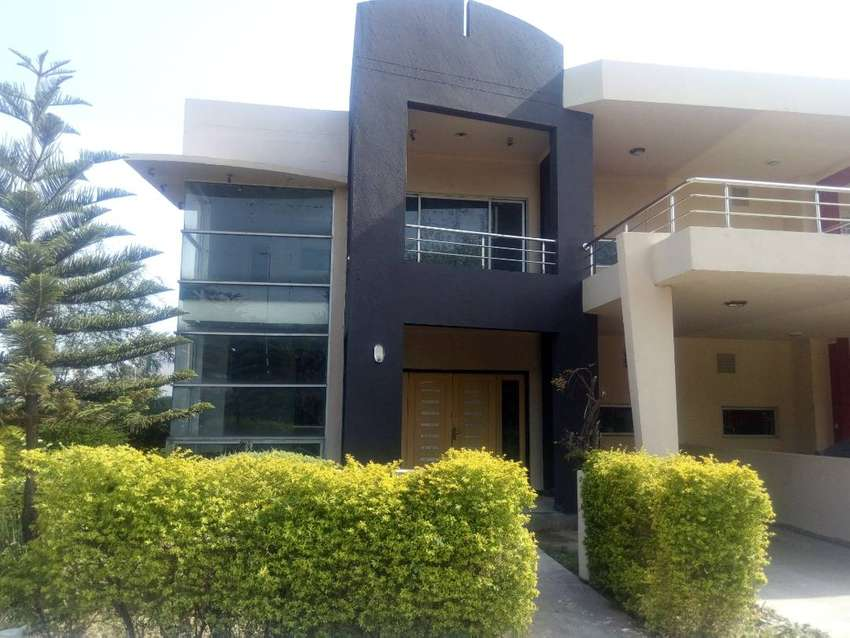 Green Lush Push 8 Marla Double story Corner House For Rent 55,000 0