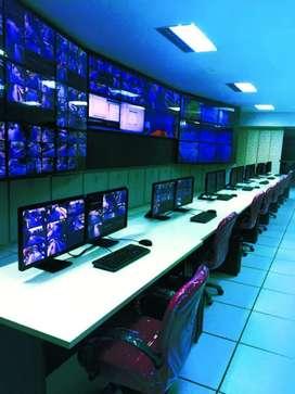 Surveillance work in collector office