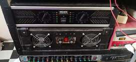 2 buah Power amplifier
