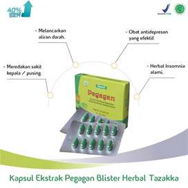 obat herbal blister pegagan isi 60 kapsul