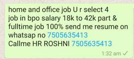 Hellow friends job r waiting for you guys cal me for job