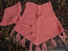 Baby woolen sweater/ krosha work