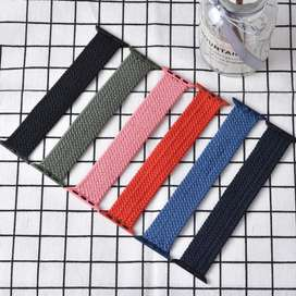 Solo braided knitted strap/band for apple watch 6/SE/5 44mm 38mm