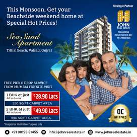 Sea Facing Weekend Home Apartments 100 mts from Tithal Beach Valsad