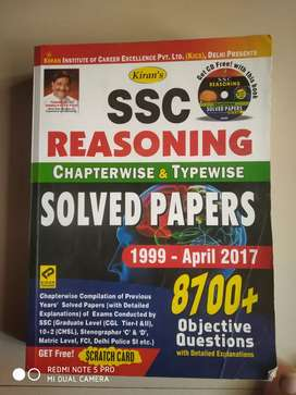 SSC Reasoning Book Chapterwise & typewise