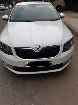 Octavia car well maintained family car , touch screen music system