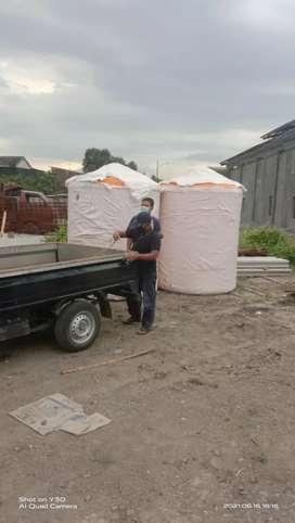 Tandon air 5300 liter Kebumen Tandon tebal 12 mili