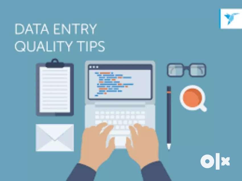 Data entry jobs part time job laptop must 0