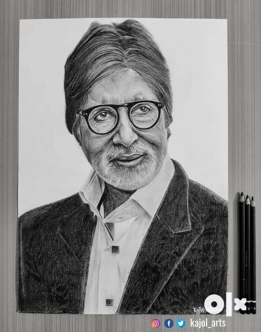 Pencil Sketches and Paintings From Just 800 ₹ 0