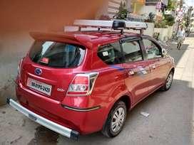 Nissan Datsun go+ 7 seater. Milage 20 km per litre