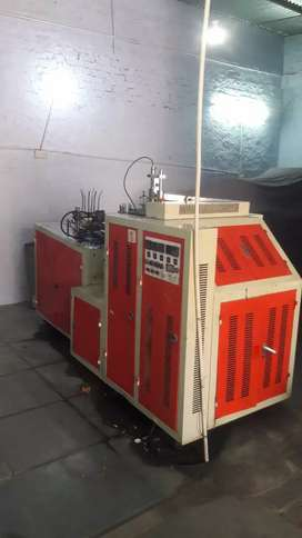 Paper disposal cup machine