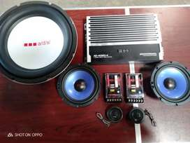 Paketan Audio ADS mantap fullset 2way power subwoofer