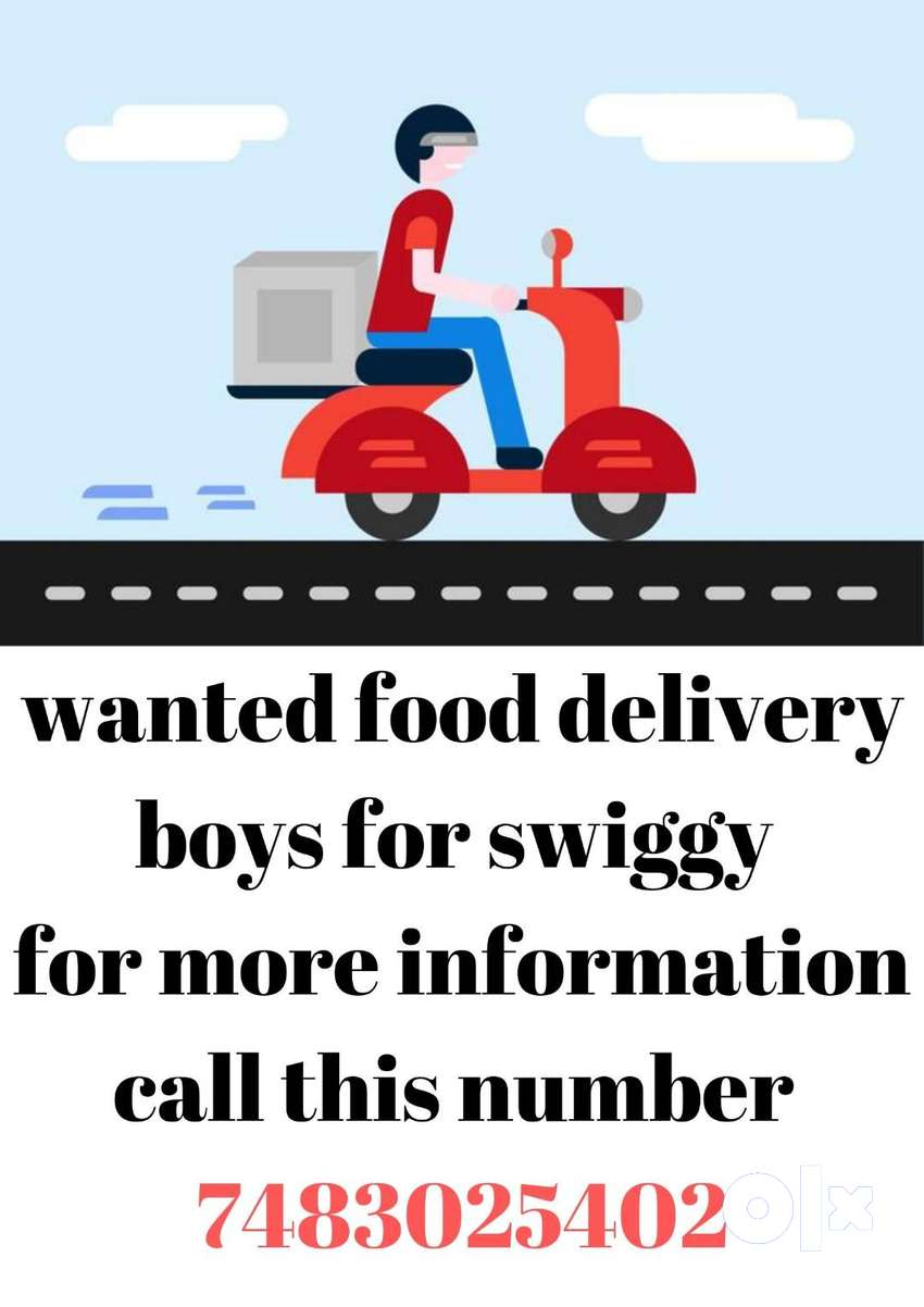 urgent required food delivery boys 0