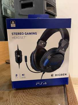 SonY Offical BigBen Gaming Headset