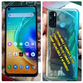 Camon 15   4+64 Available Condition 10/9