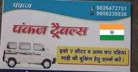 eeco van for booking Travels