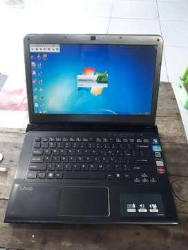 Laptop Gamer Sony Vaio Core i7 8core joss..tinggal pake