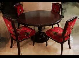 Antique wooden Four seater Dining table