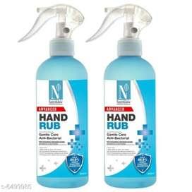 Sanitizer with spray bottle