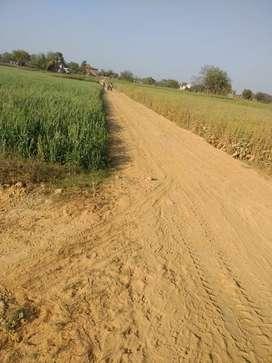 6 bigha jameen bikau hai babatpur kab City Highway se 200 metre andar