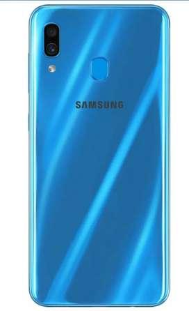 Samsung a30 6 month  used .. ram 4 gb .. rom 64 gb..