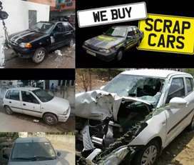 We buy any scrap car