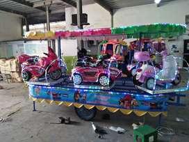 kereta panggung MRC bebek fiber odong handboat