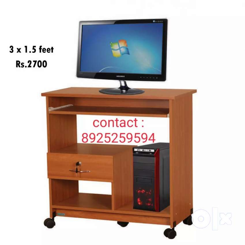 3*1.5  computer table with single drawer 0