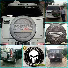 Cover Ban Serep Rush Sarung Ban Taruna EcoSport CRV Escudo Terios 12a