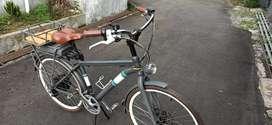 Sepeda Listrik Commuter City Bike Mountain 350watt