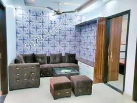 3 bhk flat semi surnished