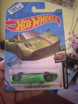 Hotwheels Card Error Pagani