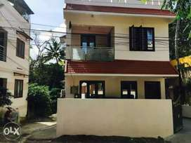 Karamana small independent 3Bhk House.. No car parking..