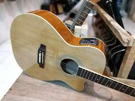 Gitar Akustik orline elektrik yamaha tuner