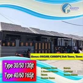 Rumah Murah Kawasan Mewah 110jt Cash 30/50 Pinggir Jalan Unit Terbatas