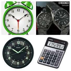 Service JAM dan Kalkulator segala merk