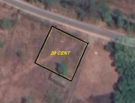 HOUSE/COMMERCIAL PLOT FOR RS .3,50.00.BROKERS EXCUSE
