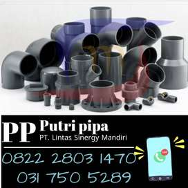 Sambungan Pipa PVC Lengkap Termurah Siap Support Diameter Besar