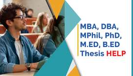 Thesis Writing service - MBA, Mphil, PhD, DBA Thesis help by experts