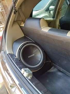 Custom audio Brio box sudut