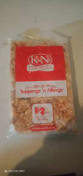 K&ns tikka pizza toping