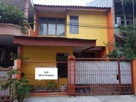Tanah 90m² bonus bangunan layak huni di Kavling DKI Pondok Kelapa