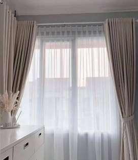 Pesan Gorden Gratis Pasang dan Survey Hordeng Rumah Wallpaper Vitrase.