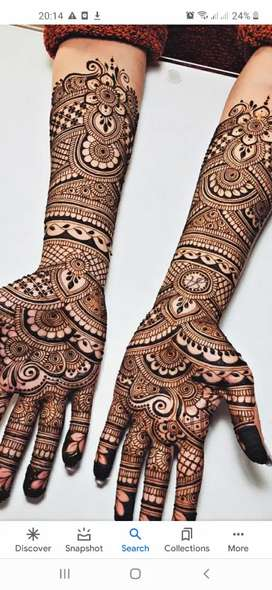 Mehandhi artist  for functions