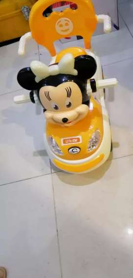 Little star Micky Mouse 4 wheel Car, baby cars,