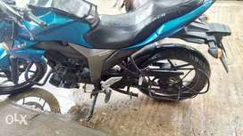Suzuki Gixxer 48000 Kms 2015 end reg
