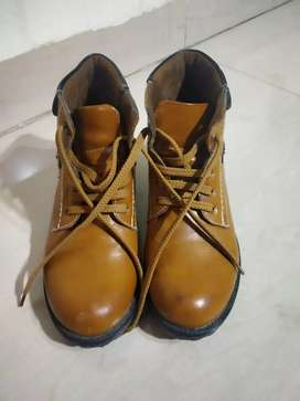 Leather Boot Shoes