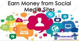 Earning from social media