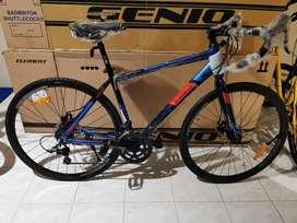 Sepeda Balap Element FRC 38 700C Alloy 2x8sp / Roadbike 700C Element