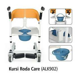 Kursi Roda One Care Alk 902 + Commode/Onecare Chair Kursi Bab + Mandi